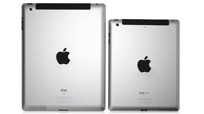 Parte trasera del iPad y del iPad mini