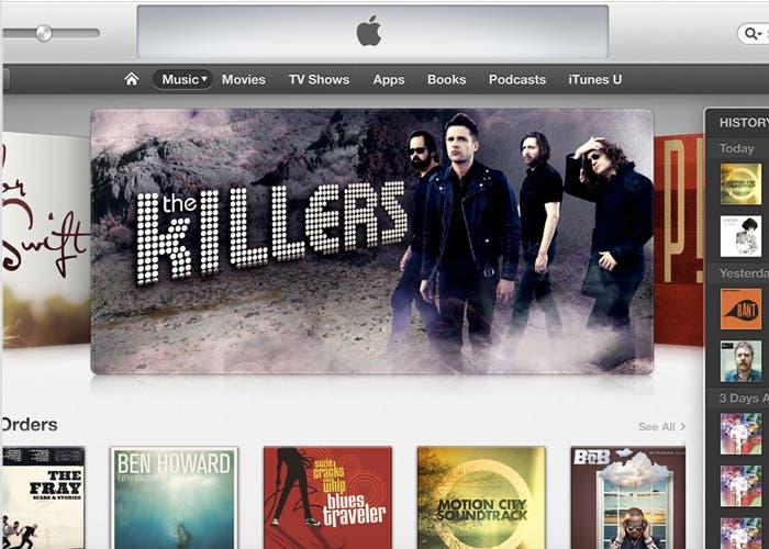 iTunes 11, nueva interfaz para el reproductor de Apple