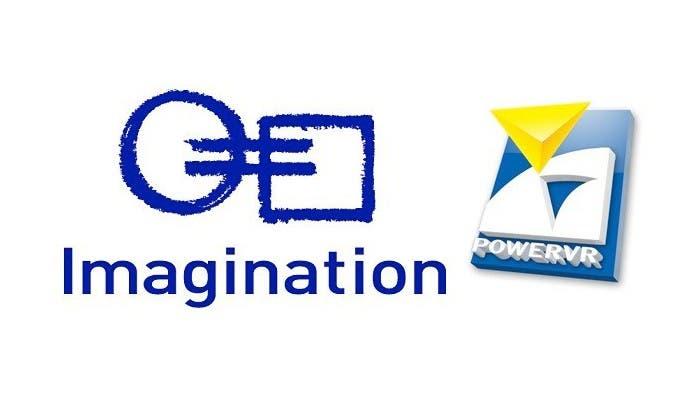 Logo de la empresa Imagination y el de su serie de GPUs PowerVR Series