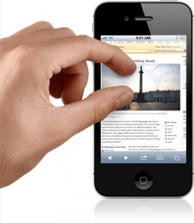 Multitouch en iOS