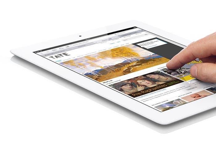 Rechazo de toques accidentales en el iPad