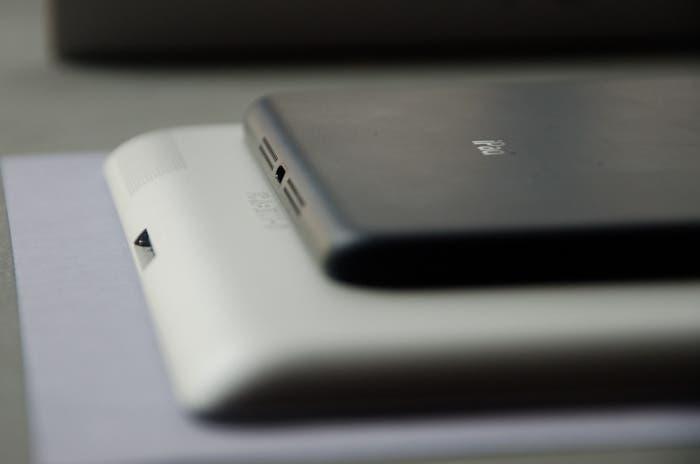 Comparativa de grosor del iPad Retina y el iPad mini