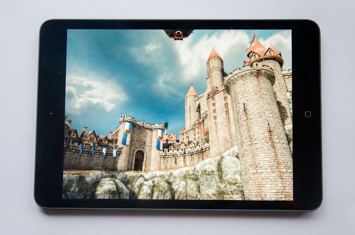 Para la review, utilizamos la aplicación Epic Citadel