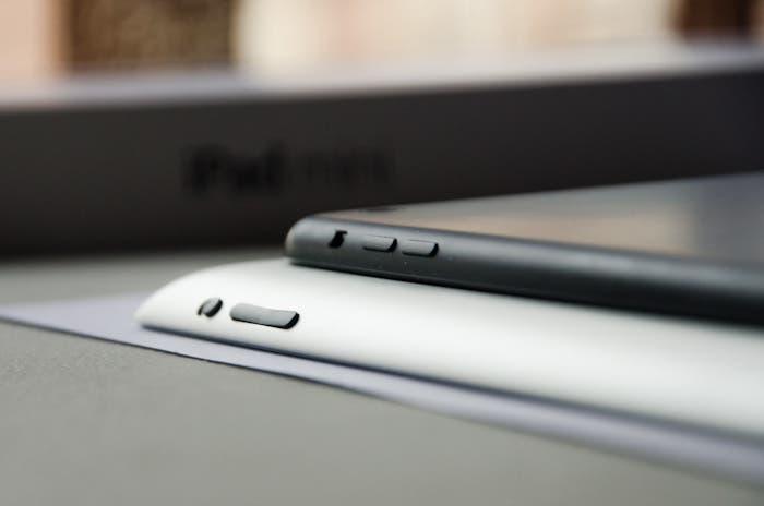 Comparación del iPad Retina con el iPad mini
