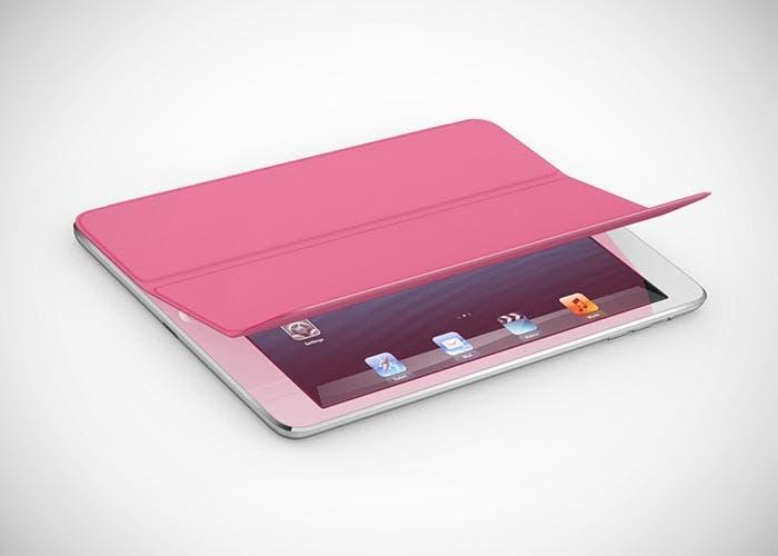 iPad mini con Smart Cover rosa