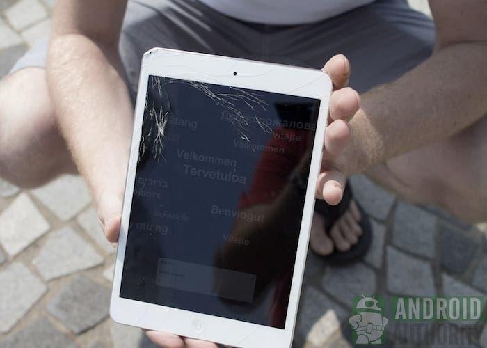 Test de caída del iPad mini