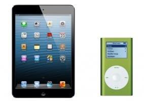 iPad mini y iPod mini