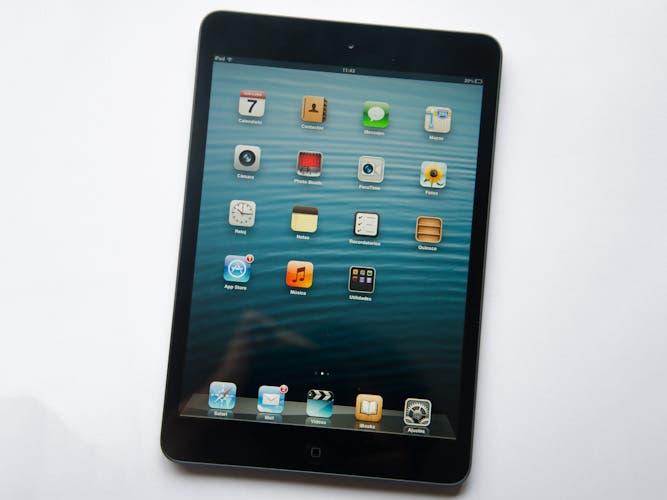 Dashboard del iPad mini