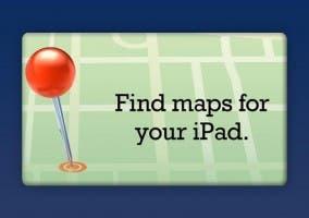 Sección de mapas en la App Store