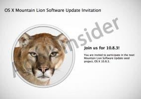 Invitación a la prueba de OS X 10.8.1 beta 1