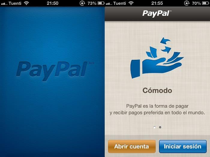 PayPal para iPhone