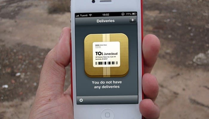 Delivery Status para iPhone