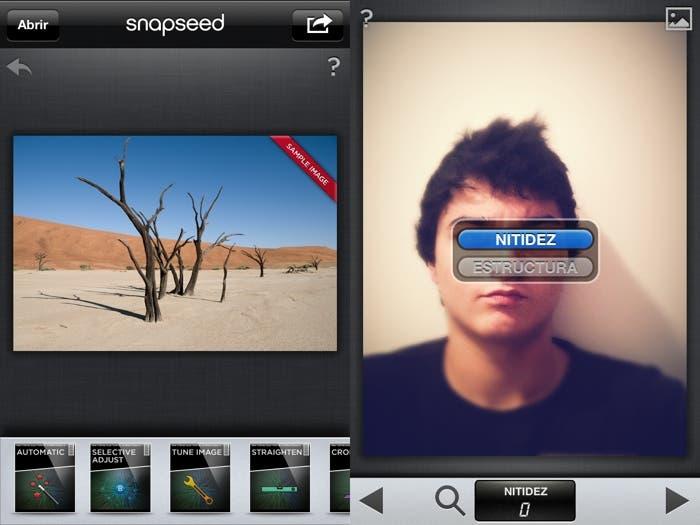 Snapseed para iOS