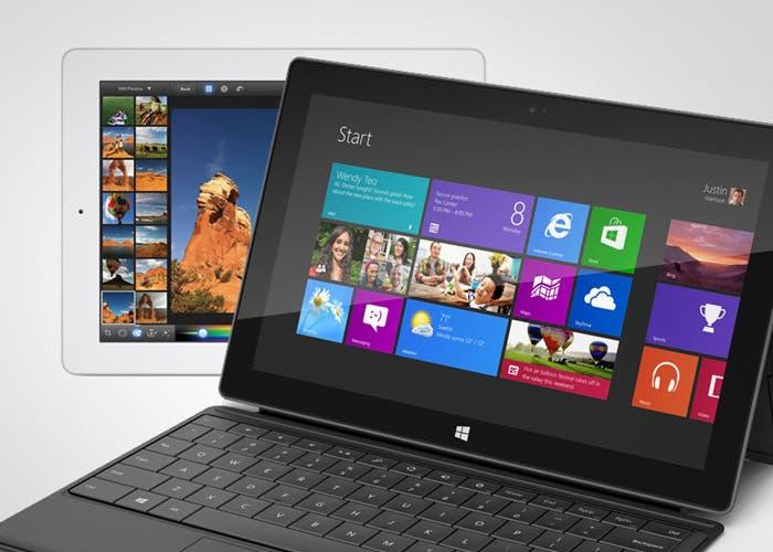 El iPad y la Surface, las dos apuestas de Apple y Microsoft para competir en el mercado de las tabletas