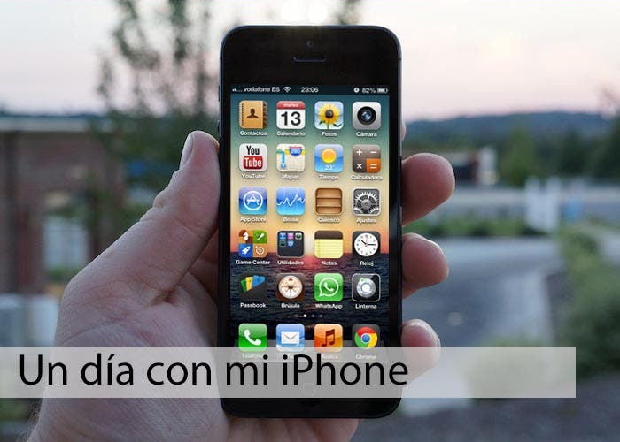 El iPhone 5 de Diego