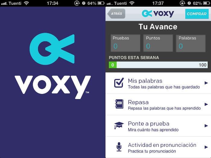 Voxy para iOS