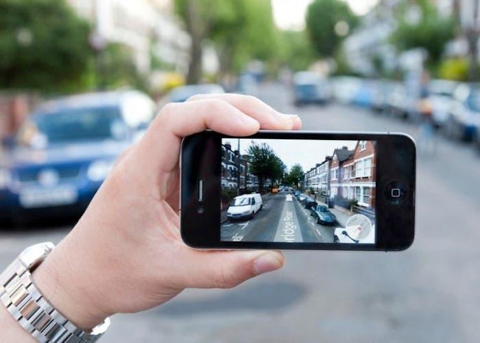El iPhone en la calle