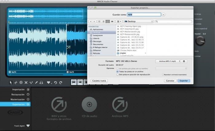 Probamos MAGIX Audio Cleaner Pro para OS X, editor de audio bastante completo