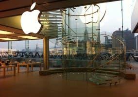 Interior de una Apple Store