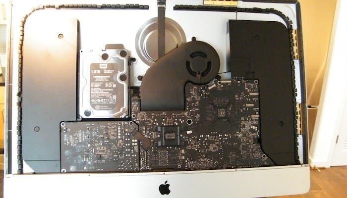 """Interior del nuevo iMac de 27"""""""