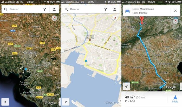 Google Maps en la App Store