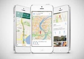 Aplicación Google Maps en iOS 6