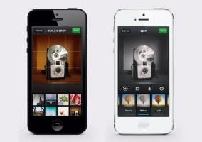 Capturas de Instagram para el iPhone 5