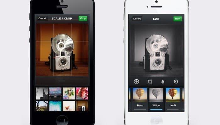 Capturas de Instagram para el iPhone 5