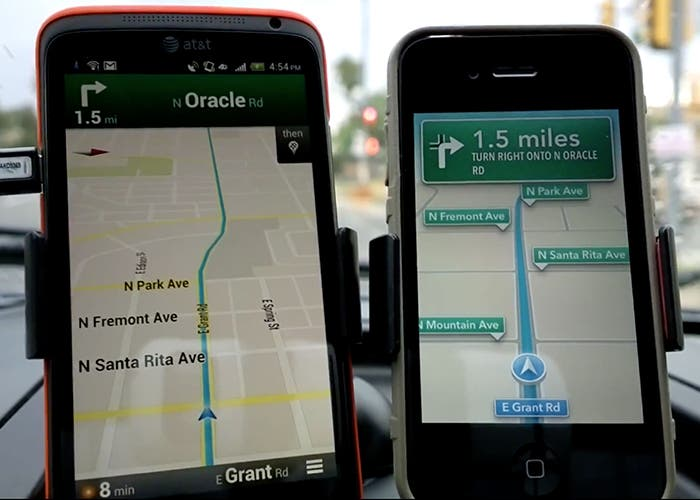 Google Maps y Apple Maps