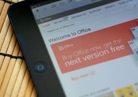 Web Office en un iPad