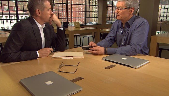 Tim Cook declaraciones en entrevista exclusiva para Business Week