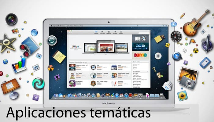Imagen destacada para Aplicaciones temáticas para OS X