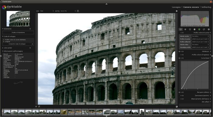 Darktable para OS X