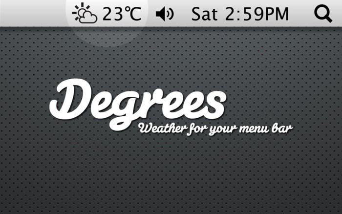 Degrees para OS X