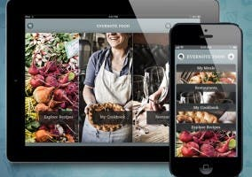 Nueva versión para iPhone y iPad de Evernote Food