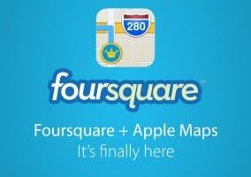 Apple se integra con Foursquare