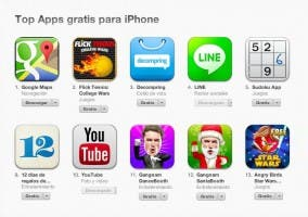 Google Maps se convierte en el número 1 en la App Store
