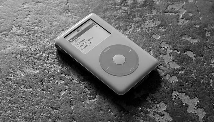 Fotografía del iPod del año 2004