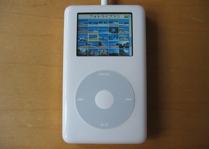 Fotografía del iPod Photo del año 2004