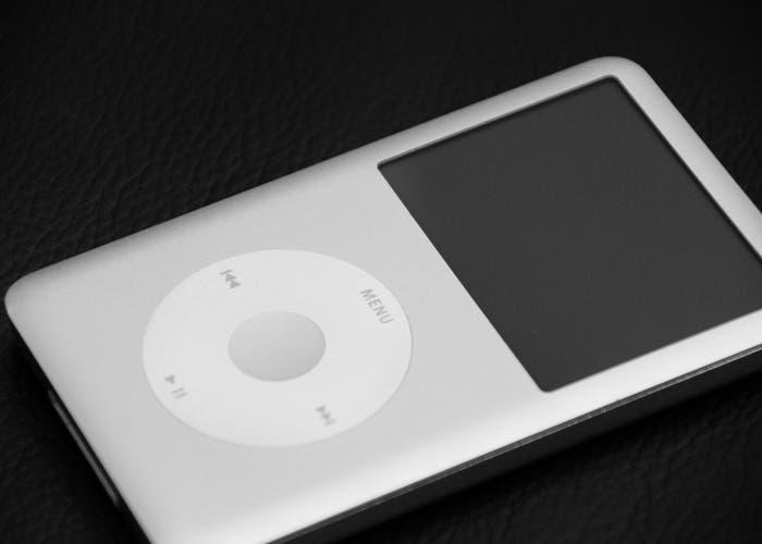 Fotografía del iPod classic