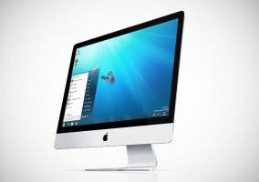 iMac ejecutando Windows a través de Boot Camp
