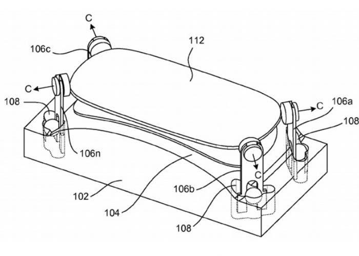 Proceso patentado por Apple para fabricar pantallas de cristal convexo
