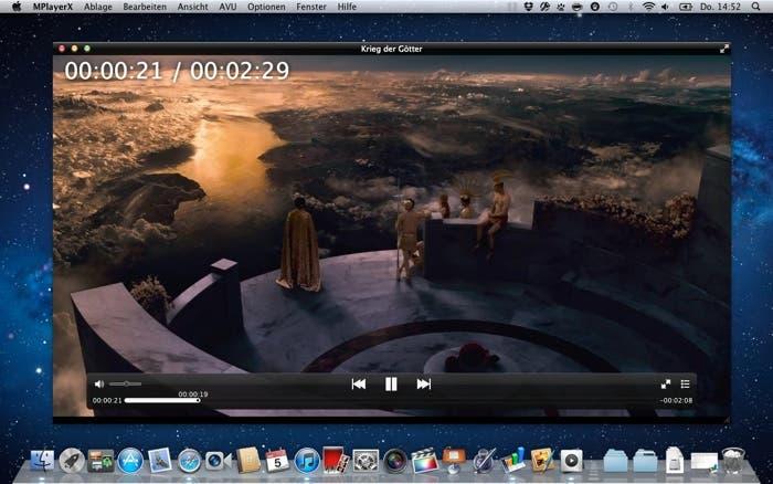 MPlayerX para OS X