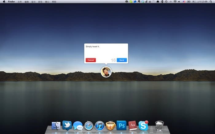 Quick Tweet para OS X