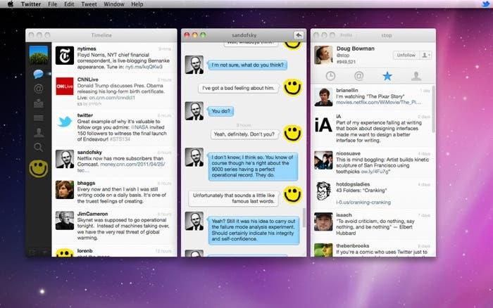 Twitter para OS X