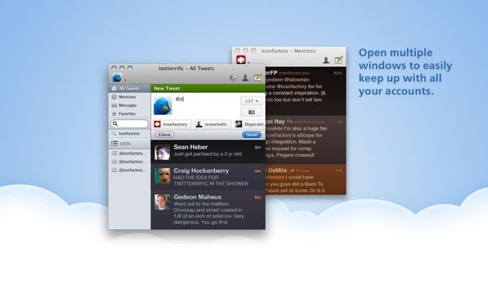 Twitterrific para OS X