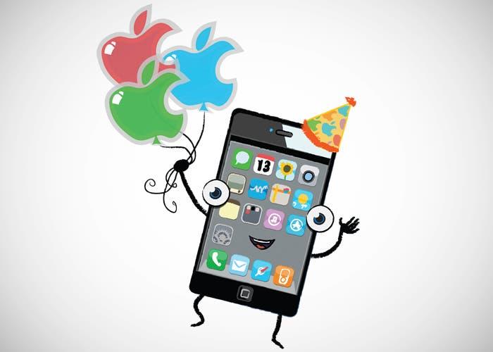 Sexto aniversario del iPhone