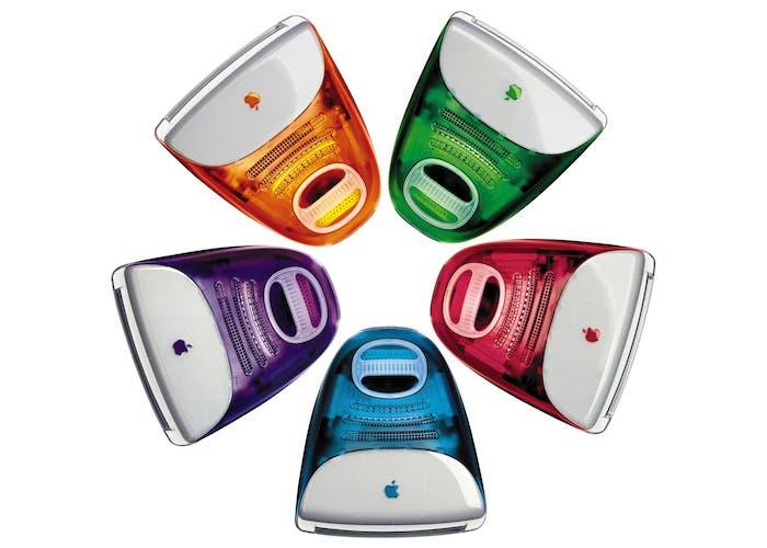 Gama de colores del iMac G3