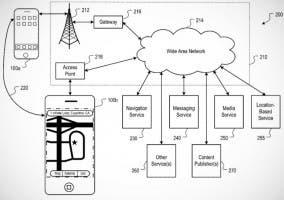 Captura de la nueva patente de Apple