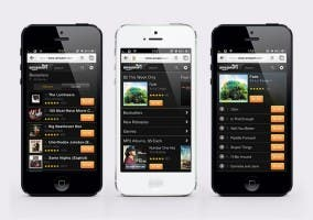 Amazon MP3 Store para iPhone